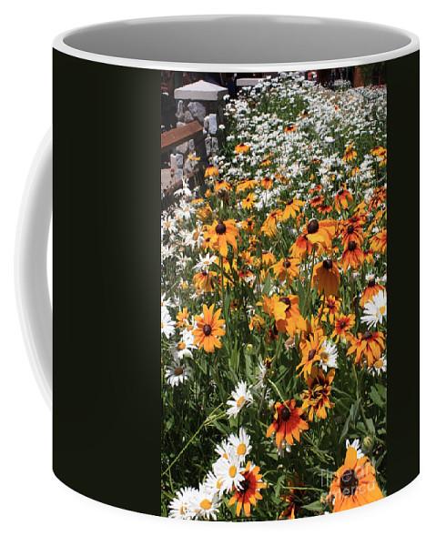Flowers Coffee Mug featuring the photograph South Lake Tahoe Flowers by Carol Groenen