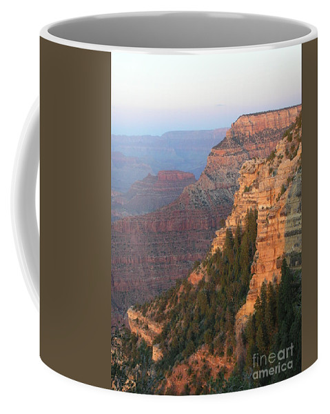 Sunset Coffee Mug featuring the photograph South Rim Sunset by Louise Magno