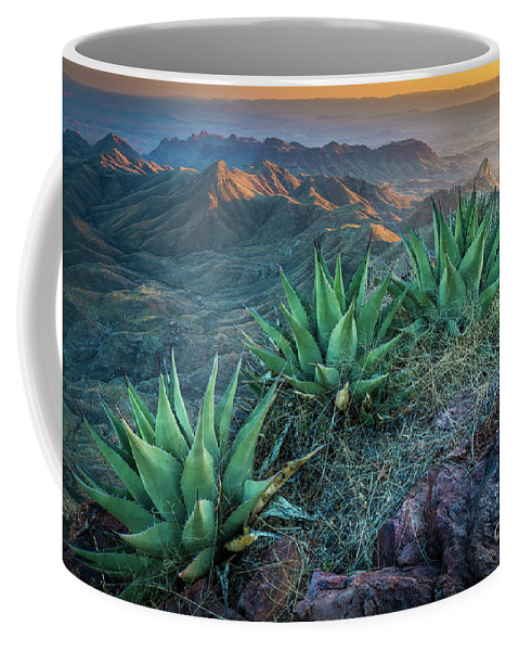 America Coffee Mug featuring the photograph South Rim Twilight by Inge Johnsson