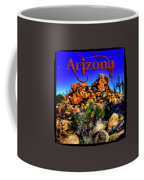 Arizona Coffee Mug featuring the photograph Southbound On Us 93 by Roger Passman