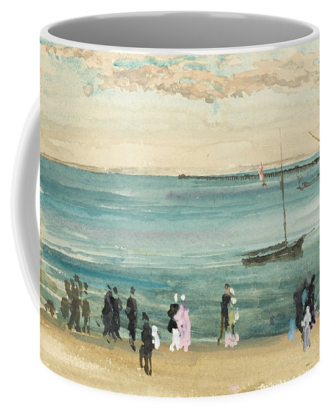James Mcneil Whistler Coffee Mug featuring the painting Southend Pier by James McNeil Whistler