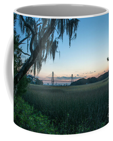 Lowcountry Coffee Mug featuring the photograph Southern Marsh Charm by Dale Powell