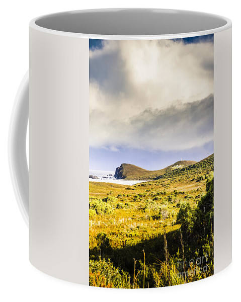 Rural Coffee Mug featuring the photograph Southern Tip Of Bruny Island by Jorgo Photography - Wall Art Gallery