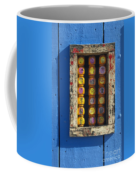 Southwest Coffee Mug featuring the photograph Southwest Door Detail by Sandra Bronstein