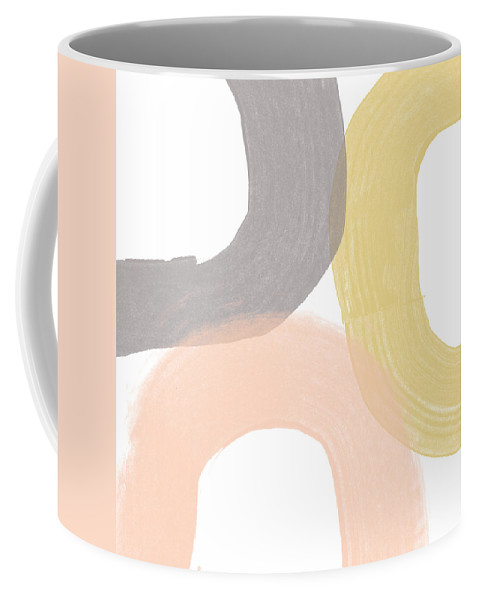 Brushstrokes Coffee Mug featuring the painting Southwest Modern Brushstrokes - Abstract Art By Linda Woods by Linda Woods