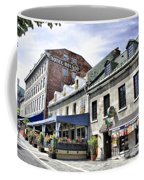 Montreal Coffee Mug featuring the photograph Souvenirs Montreal by Deborah Benoit