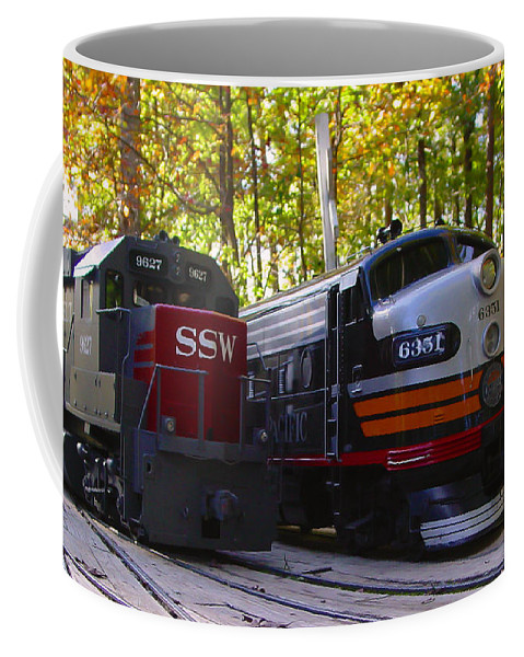 Pat Turner Coffee Mug featuring the photograph Sp Vs Ssw by Pat Turner