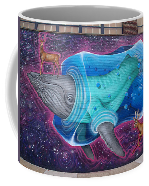 Mural Coffee Mug featuring the photograph Space Dream by Newwwman