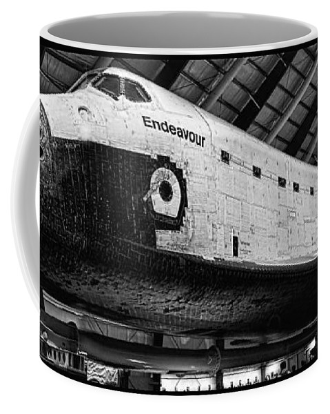Aviation Coffee Mug featuring the photograph Space Shuttle Endeavour 2 by Tommy Anderson