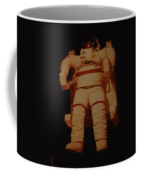 Nasa Coffee Mug featuring the photograph Space Suit by Rob Hans