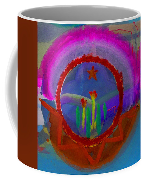 Love Coffee Mug featuring the painting Spanish America by Charles Stuart