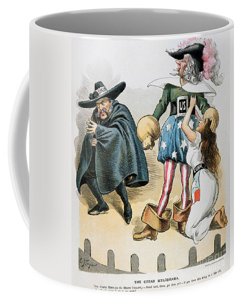 1896 Coffee Mug featuring the photograph Spanish-american War, 1896 by Granger