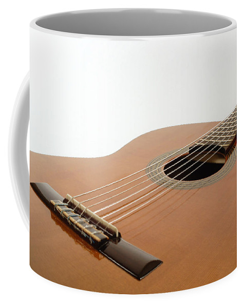 Guitar Coffee Mug featuring the photograph Spanish Guitar by David Thompson