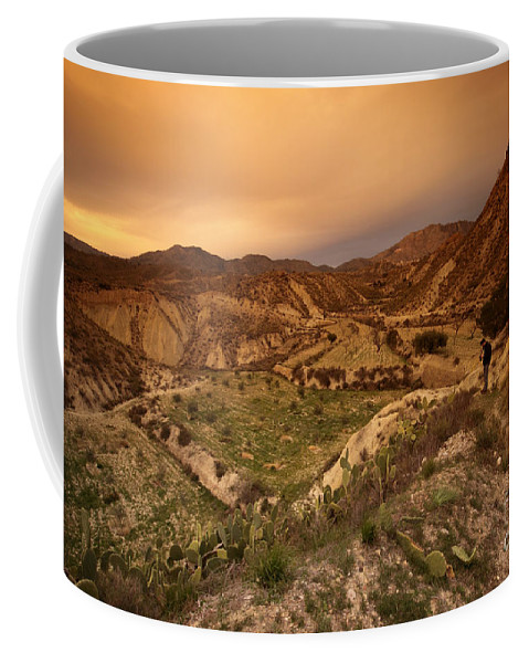Mountains Coffee Mug featuring the photograph Spanish Landscape by Angel Ciesniarska