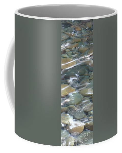 Sparkling Water Coffee Mug featuring the photograph Sparkling Water On Rocky Creek 1 by Carol Groenen