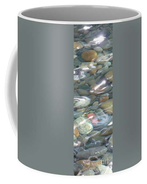 Sparkling Water Coffee Mug featuring the photograph Sparkling Water On Rocky Creek 2 by Carol Groenen