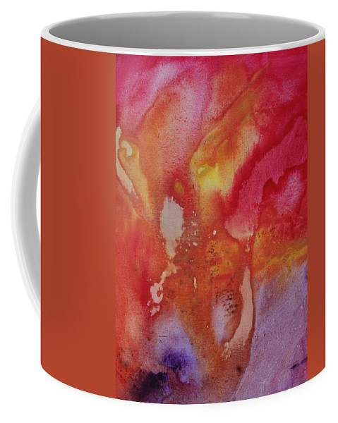 Painting Coffee Mug featuring the painting Speak To Me 1 By Madart by Megan Duncanson