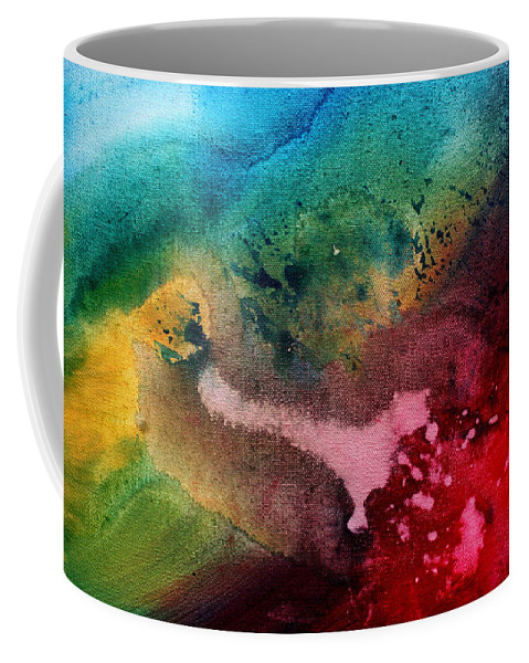 Painting Coffee Mug featuring the painting Speak To Me By Madart by Megan Duncanson