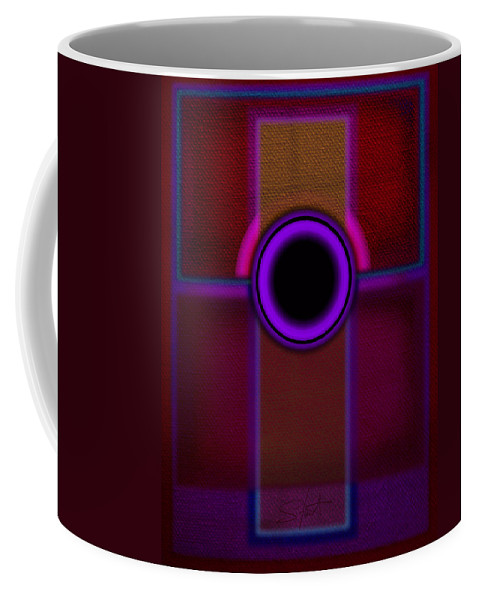 Portal Coffee Mug featuring the painting Speaker by Charles Stuart