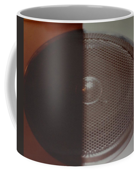 Abstract Coffee Mug featuring the photograph Speaker by Rob Hans