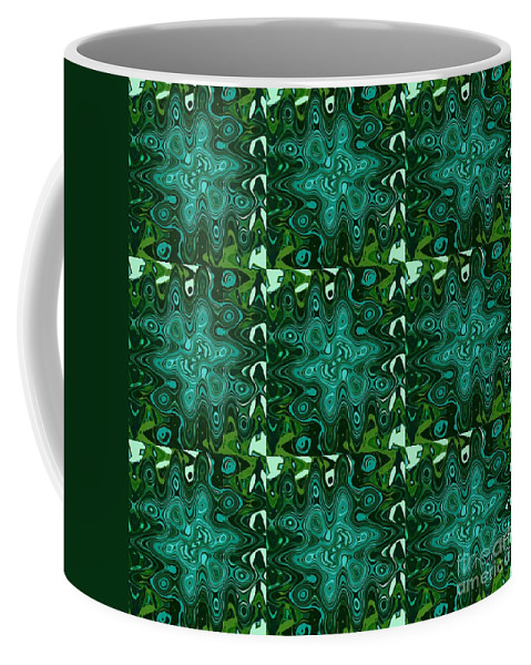 Splash Coffee Mug featuring the digital art Special Effects 2 by Helena Tiainen