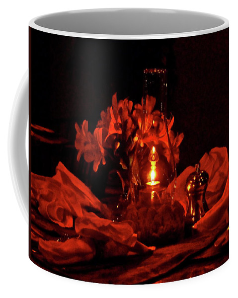 Candle Coffee Mug featuring the photograph Special Occasion by Diana Hatcher