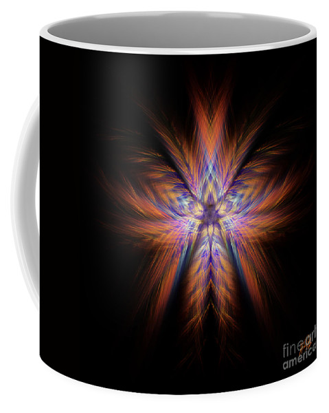 Colour Coffee Mug featuring the digital art Spectra by Alina Davis