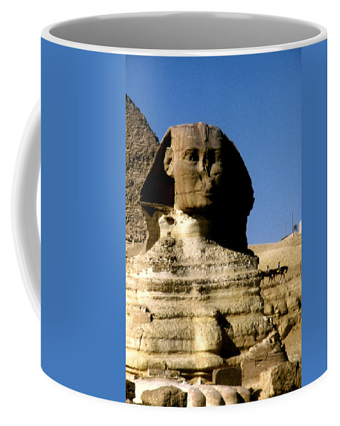 Sphinx Coffee Mug featuring the photograph Sphinx by Gary Wonning