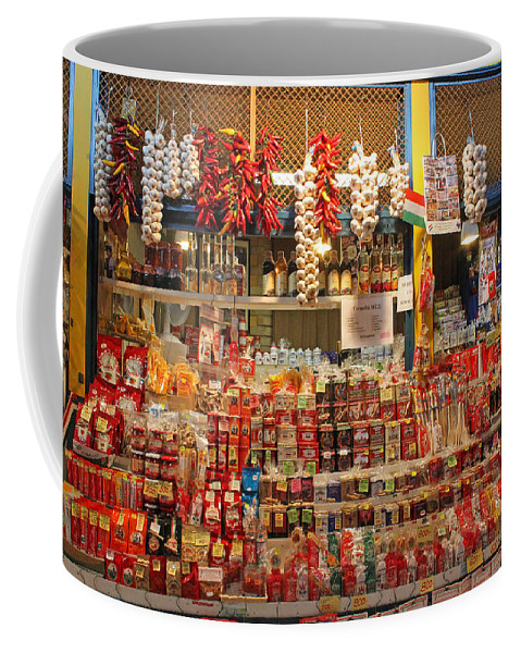 Spice Stall Coffee Mug featuring the photograph Spice Stall by Tony Murtagh