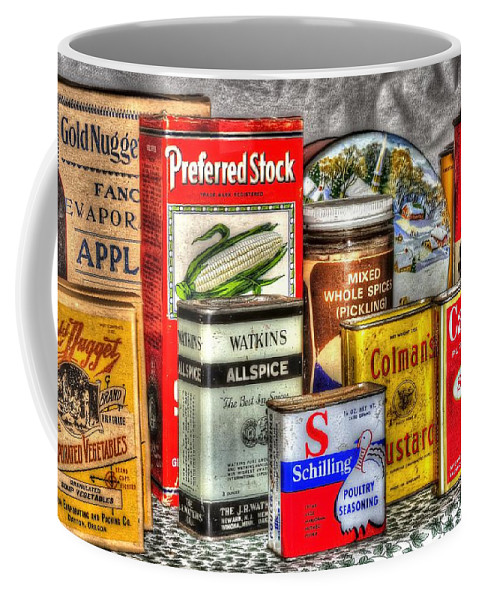 Or Coffee Mug featuring the photograph Spices 764 by Jerry Sodorff