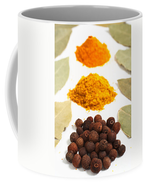 Curry Coffee Mug featuring the photograph Spices by Gaspar Avila