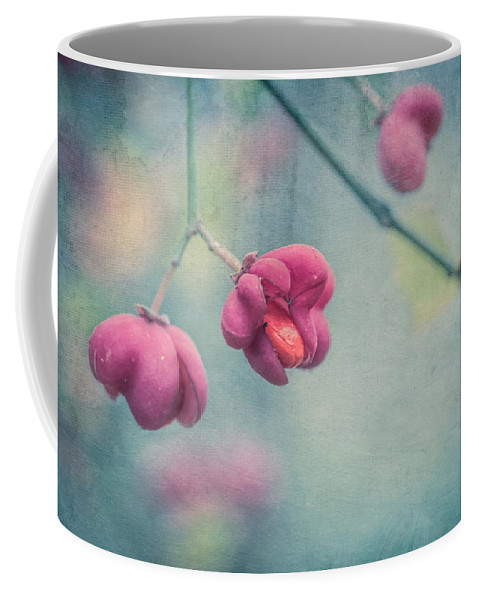 Spindle Coffee Mug featuring the photograph Spindle Tree by Elisabeth De vries