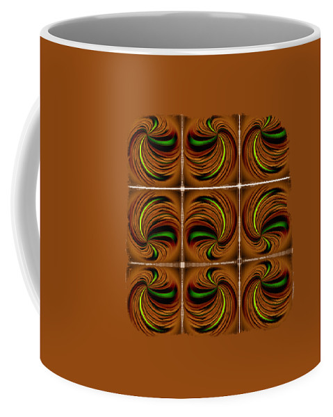 Abstract Coffee Mug featuring the photograph Spinners by John M Bailey