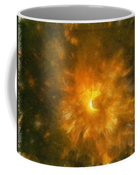 Firecracker Coffee Mug featuring the photograph Spinning Firecracker And Bright Colors by Ashish Agarwal