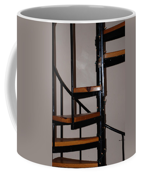 Stairs Coffee Mug featuring the photograph Spiral Stairs by Rob Hans