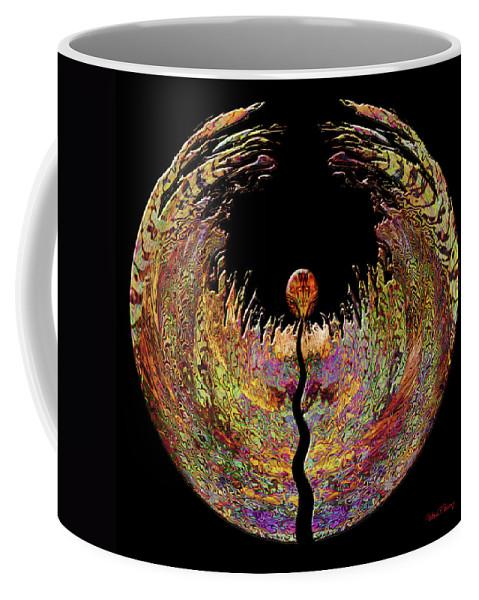 Spirit Coffee Mug featuring the digital art Spirit by Barbara Berney
