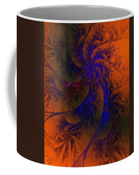 Fine Art Coffee Mug featuring the digital art Spirit Dancer by David Lane