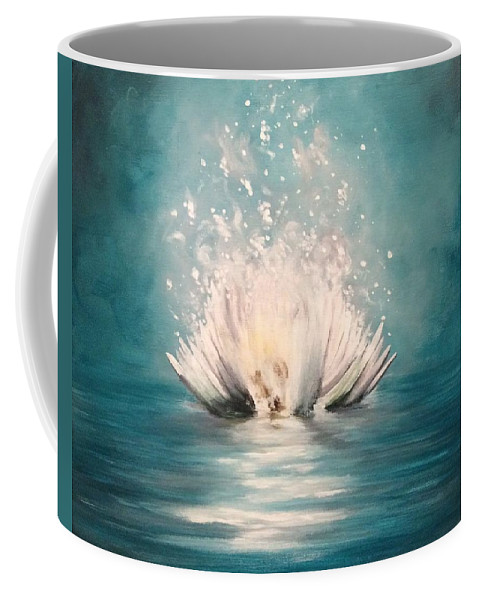 Flower Coffee Mug featuring the painting Spirit Of My Soul by Michelle Ferrell