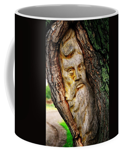 North America Coffee Mug featuring the photograph Spirit Of The Forest ... by Juergen Weiss
