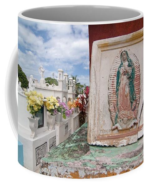 Tile Coffee Mug featuring the photograph Spiritual Tile by Sven Brogren