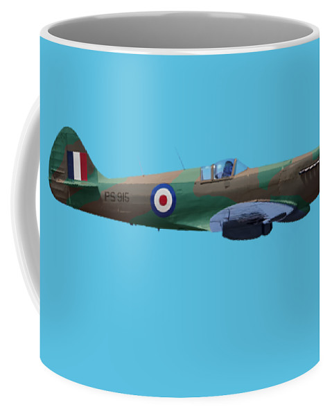 Spitfire Coffee Mug featuring the photograph Spitfire by Rob Lester