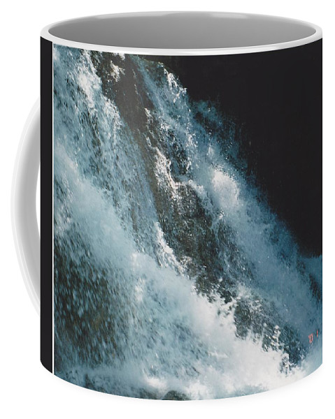 Water Coffee Mug featuring the photograph Splash by Michelle Powell