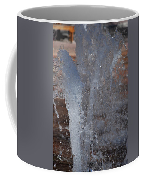 Water Coffee Mug featuring the photograph Splash by Rob Hans