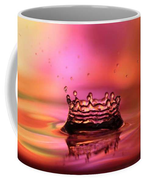 Splash Coffee Mug featuring the photograph Splash by Sabrina L Ryan