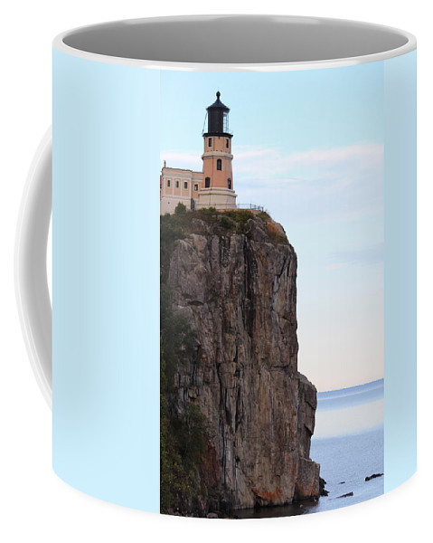 North Coffee Mug featuring the photograph Split Rock Lighthouse Five by Nicholas Miller