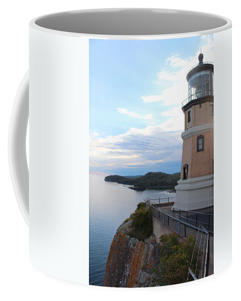 North Coffee Mug featuring the photograph Split Rock Lighthouse Four by Nicholas Miller