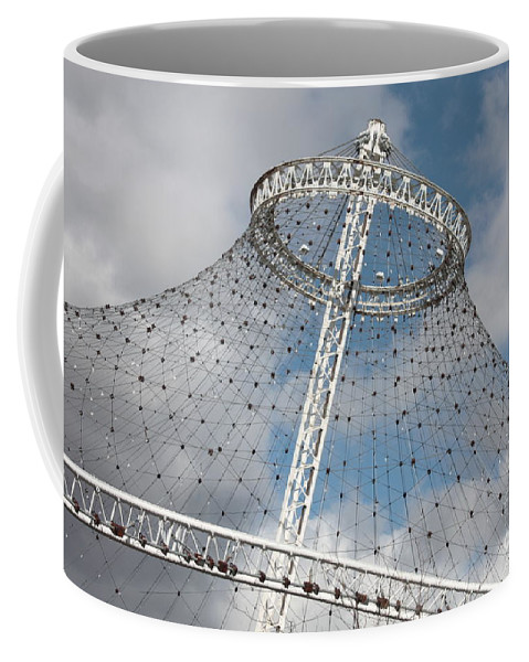 Spokane Coffee Mug featuring the photograph Spokane Pavilion by Carol Groenen