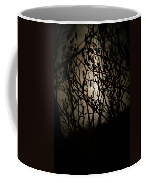 Spooky Coffee Mug featuring the photograph Spooky Sumac by Marilyn Hunt