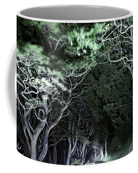 Botanic Coffee Mug featuring the photograph Spooky Trees by Svetlana Sewell