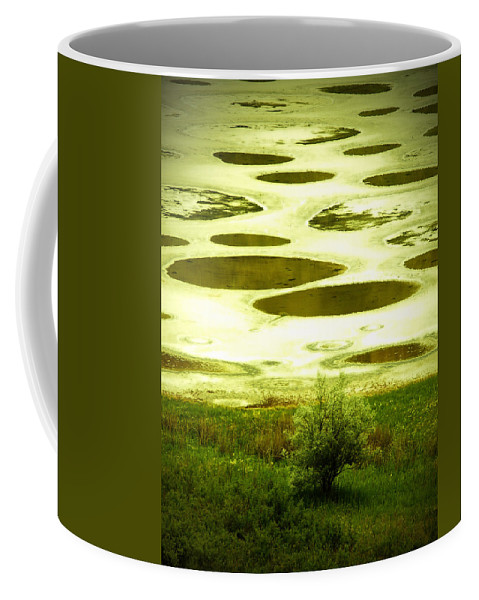 Spotted Lake Coffee Mug featuring the photograph Spotted Lake by Tara Turner
